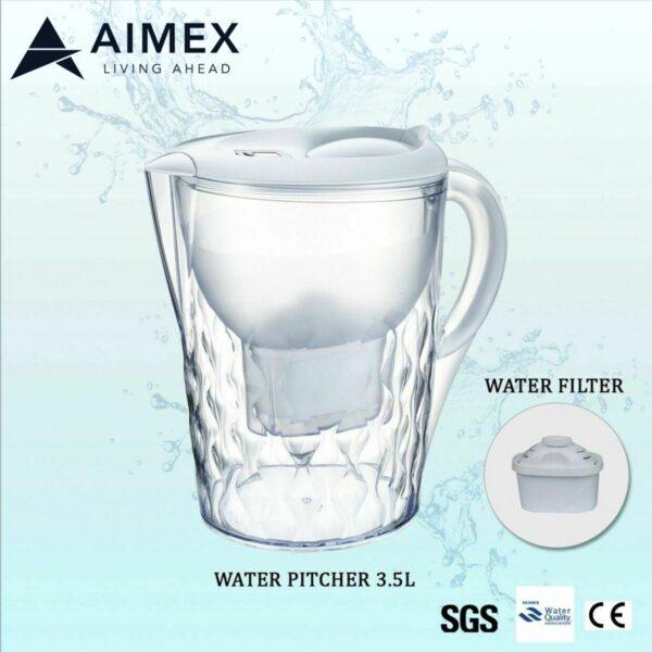 Pitcher filter white