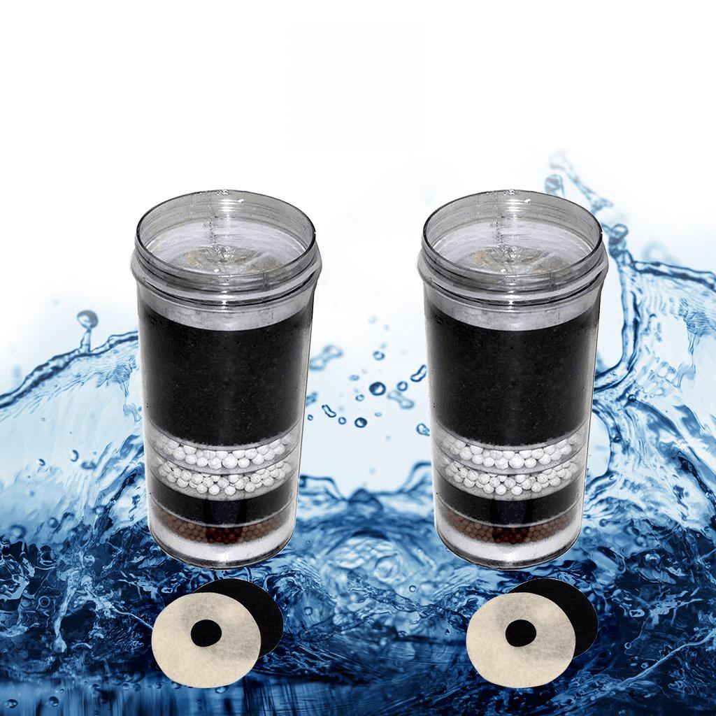fluoride water filter x2