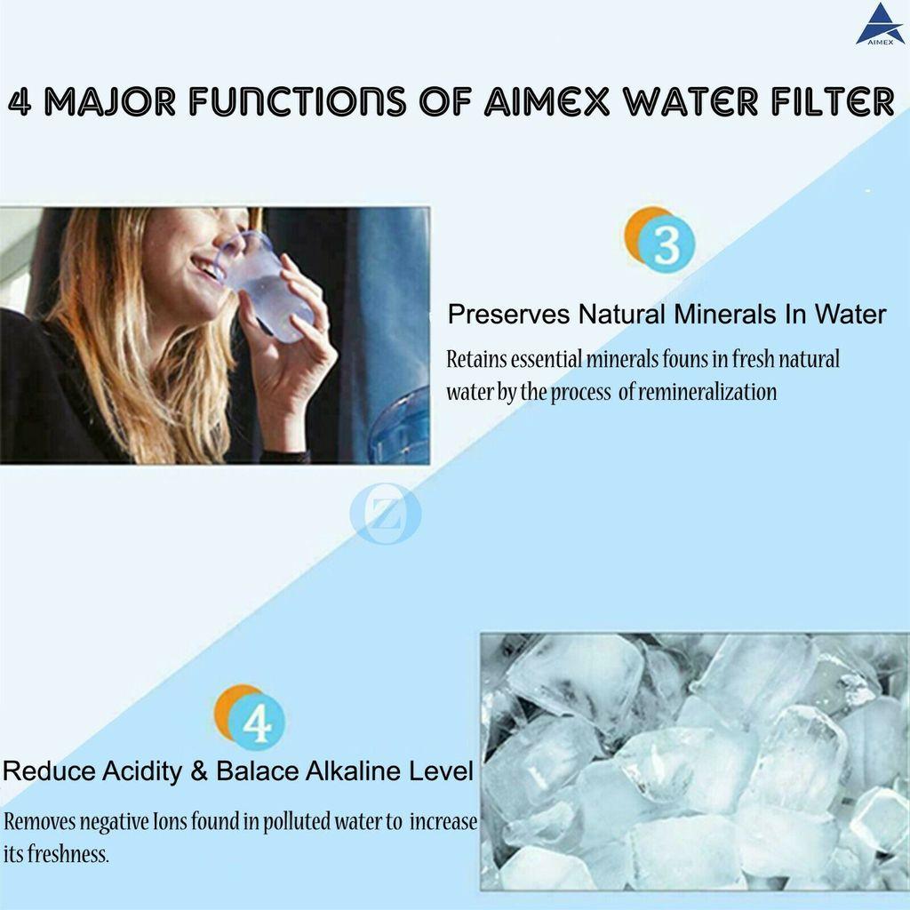 Aimex 8 Stage Water Filter Purifier Dispenser 16L Bonus 2 Filter Cartridges