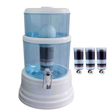 Aimex Water 8 Stage Water Purifier 16L Dispenser Total 3 Fluoride Filters